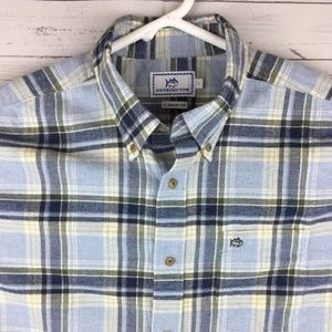 Southern Tide Men's L LS Button Down Shirt EUC